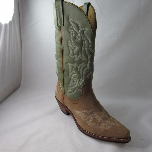 4db065895a0 Laredo 12 5776 Sz 8.5 Brown Boots Shoes For Women